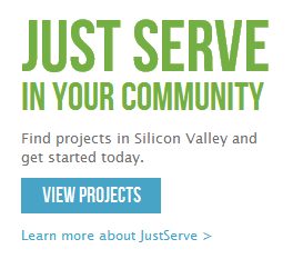JustServe-home-page-screenshot