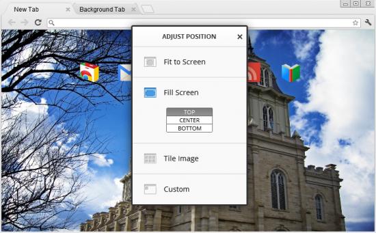 Create your own LDS Chrome theme