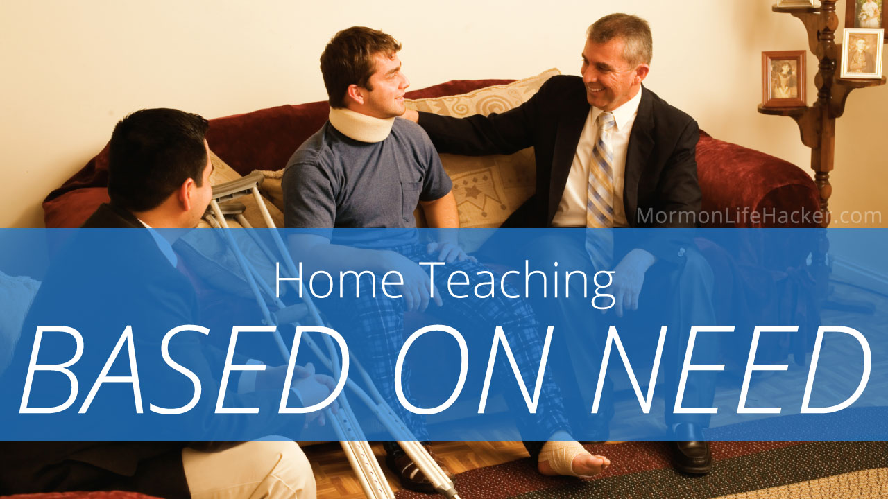 home-teaching-based-on-need
