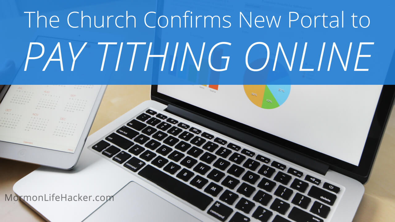 New Online Tithing Available to All of the United States [updated]