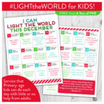 #LIGHTtheWORLD Christmas activities for Primary-aged children