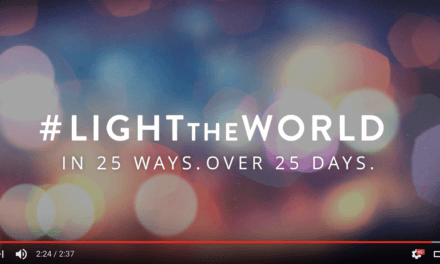 #LIGHTtheWORLD this Christmas with mormon.org
