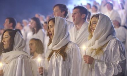 REMEMBER THIS? World's Largest Live Nativity—the world-record was broken in 2014!
