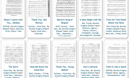 Free LDS Sheet Music