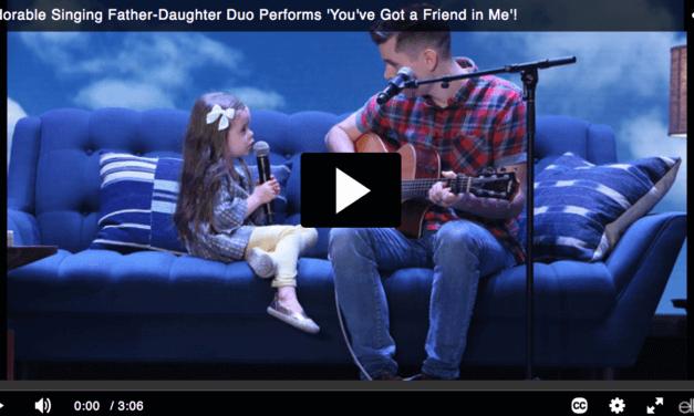LDS 4-year-old Claire Ryann has a friend in Ellen DeGeneres