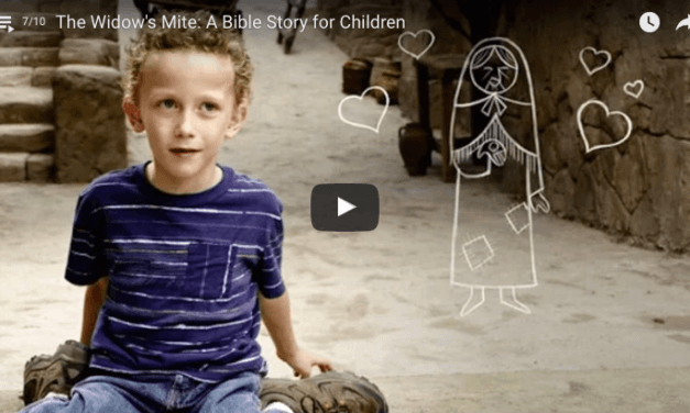 LDS Children Tell the Story of the Widow's Mite from the Bible (too cute not to watch)!