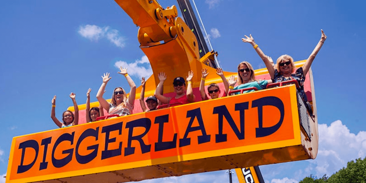 Forget Disneyland! To be Father/Mother of the Year, take your kids to this life-sized sandbox!