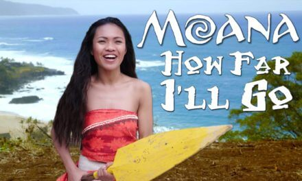 """Disney's Moana – How Far I'll Go – Official """"In Real Life"""" music video from WORKING WITH LEMONS"""