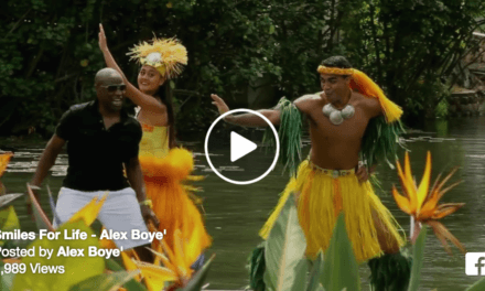 Alex Boye has SMILES FOR LIFE! (And so does the Polynesian Cultural Center.)