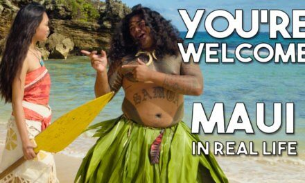 "Disney's Moana – Maui's ""You're Welcome"" from Disney's Moana/Vaiana – Official ""In Real Life"" music video from WORKING WITH LEMONS"